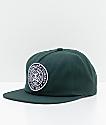 Obey Established 89 gorra snapback en verde de picea
