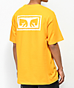 Obey Eyes 3 Gold & White T-Shirt