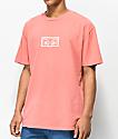 Obey Eyes camiseta coral polvoriento