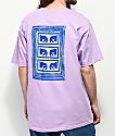 Obey Flashback Lavender T-Shirt