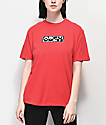 Obey Inside Out 2 camiseta roja