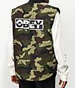 Obey Inside Out III chaleco de camuflaje