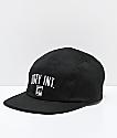 Obey International Black Strapback Hat