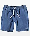 Obey Keble Blue Denim Shorts