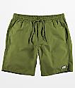 Obey Legacy III Army Green Shorts