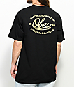 Obey Lineas Black T-Shirt