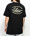 Obey Lineas camiseta negra