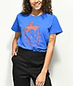 Obey Lo Fi Strawberry Blue T-Shirt
