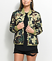 Obey Mercy Camo Bomber Jacket