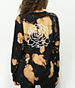 Obey Mira Rosa Box Bleached Black Long Sleeve