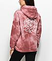 Obey Mira Rosa sudadera con capucha con efecto tie dye