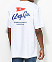 Obey Nautical White T-Shirt