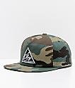 Obey New Federation III Camo Snapback Hat