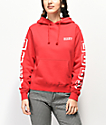 Obey New World 3 Red Hoodie