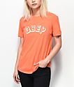 Obey New World Classic camiseta naranja