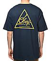 Obey Next Round 2 Navy & Gold T-Shirt