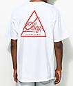 Obey Next Round 2 White & Red T-Shirt