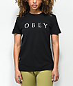 Obey Novel 2 Black T-Shirt