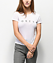 Obey Novel White Baby Doll T-Shirt
