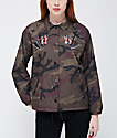 Obey Off The Chain Camo Coaches Jacket