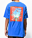 Obey One Love Blue T-Shirt