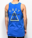 Obey Outsiders Paradise Blue Tank Top