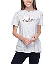 Obey Overgrown Blue Tie Dye T-Shirt