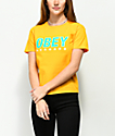 Obey Records 2 Shrunken Gold T-Shirt