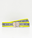 Obey Road Block Reflective Yellow Belt