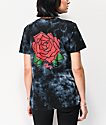 Obey Rosa Riot Black & White Tie Dye T-Shirt