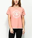 Obey Rue De La Ruine Box Coral T-Shirt