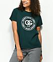 Obey Rue De La Ruine camiseta verde