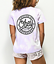 Obey Since 89 camiseta lavanda blanqueada