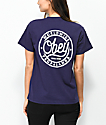 Obey Since 89 camiseta morada oscuro