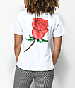 Obey Slauson Rose White T-Shirt