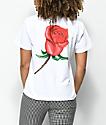 Obey Slauson Rose camiseta blanca