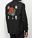 Obey Spider Rose Black Vest