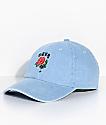 Obey Spider Rose Denim Strapback Hat