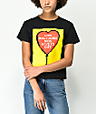 Obey Stop The Violence How Many More Black Shrunken T-Shirt