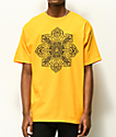 Obey Stop The Violence Mandala Gold T-Shirt
