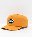 Obey Struggler Mineral Yellow Strapback Hat