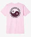 Obey Subversion Pink T-Shirt