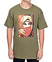 Obey Universal Personhood 2 camiseta en verde olivo