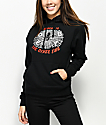 Obey Welcome To The Other Side Black Hoodie