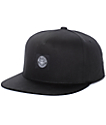 Obey Worldwide Seal Black Snapback Hat