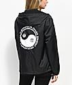 Obey Yin & Yang chaqueta anorak negra