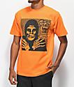 Obey x Misfits Fiend Club Halloween camiseta naranja