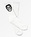 Obey x Misfits Fiend Club calcetines blancos
