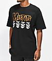 Obey x Misfits Fiend Skull Black T-Shirt