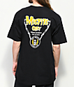 Obey x Misfits Horror Biz Hands camiseta negra